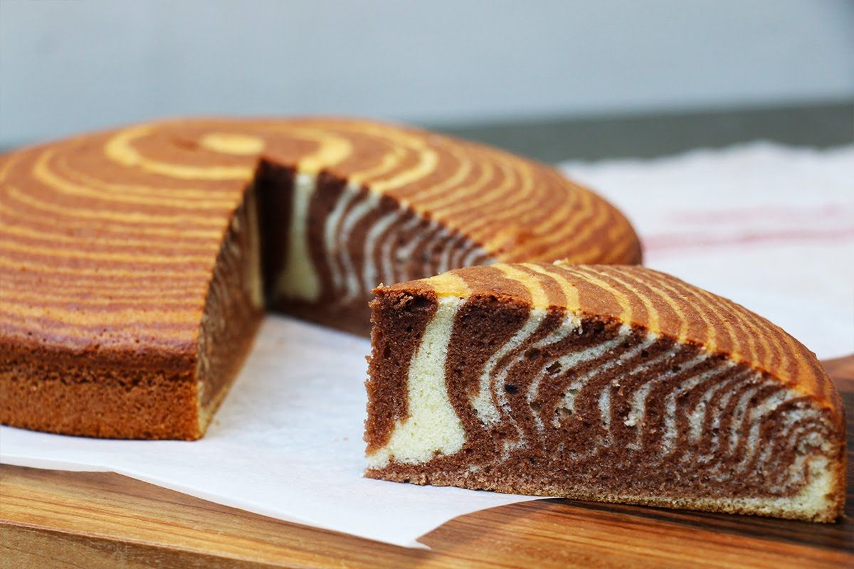 recette du super cake z br moelleux et facile ou g teau marbr z br delicious cakes and. Black Bedroom Furniture Sets. Home Design Ideas