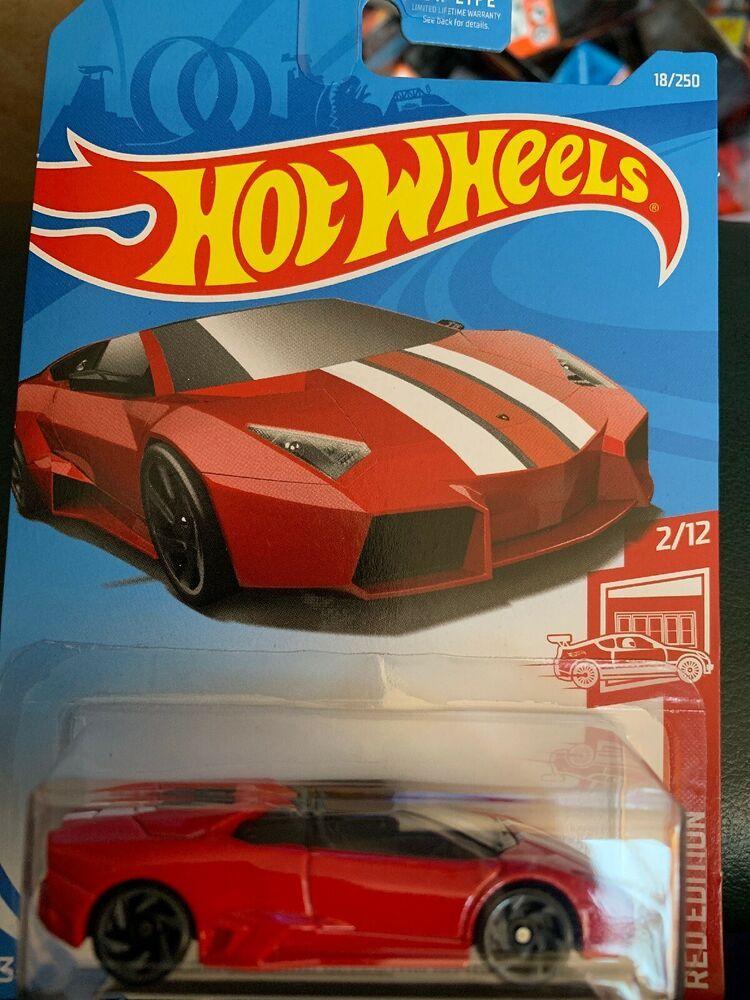 Hot Wheels Lamborghini Reventon Roadster Red Car Hw Red Edition Target Ebay Hot Wheels Hot Wheels Track Hot Wheels Cars