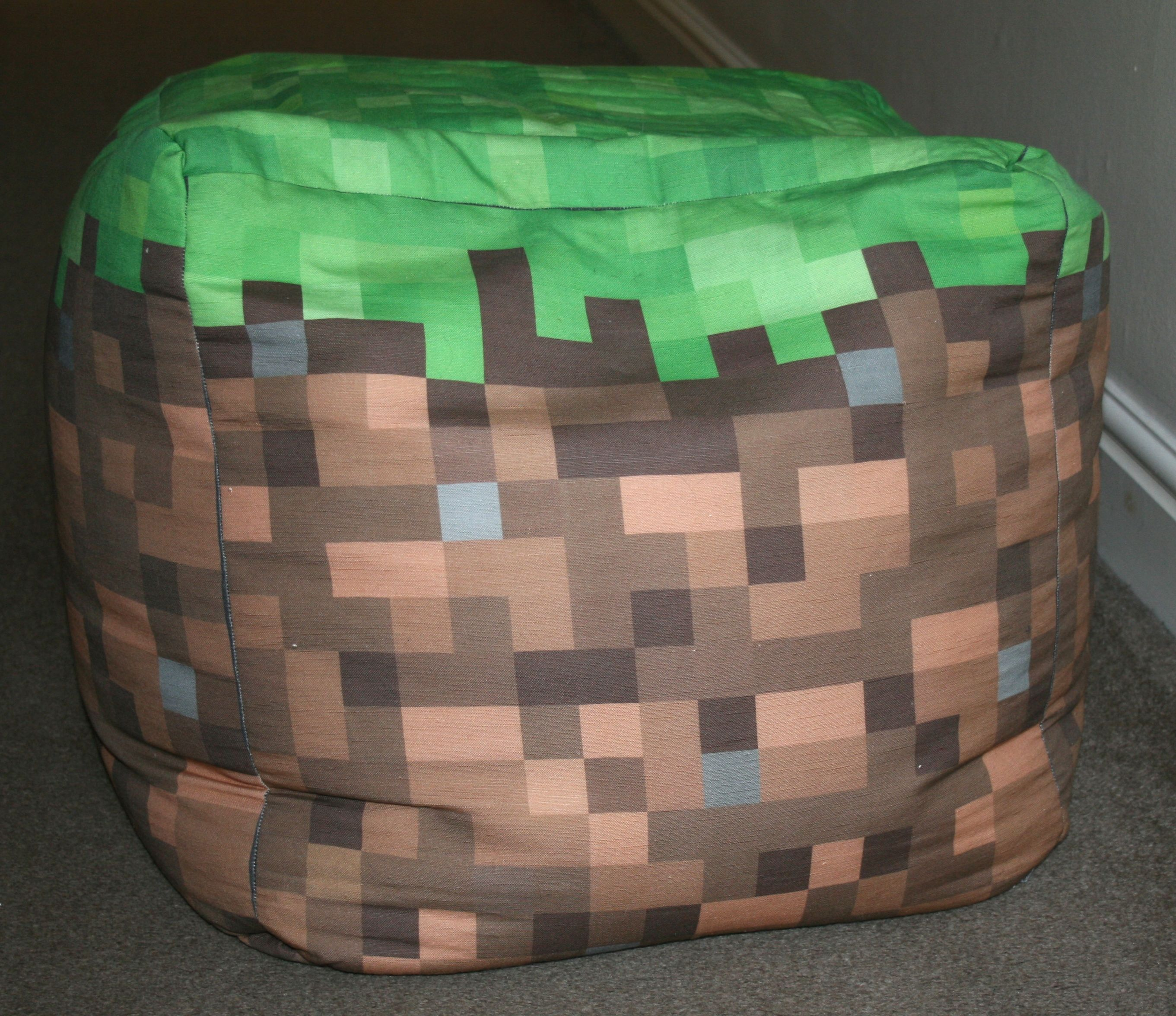 Stupendous Minecraft Beanbag Minecraft Bedroom Minecraft Room Ocoug Best Dining Table And Chair Ideas Images Ocougorg