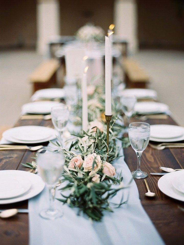 Lovely wedding centerpiece; photo: Carmen Santorelli