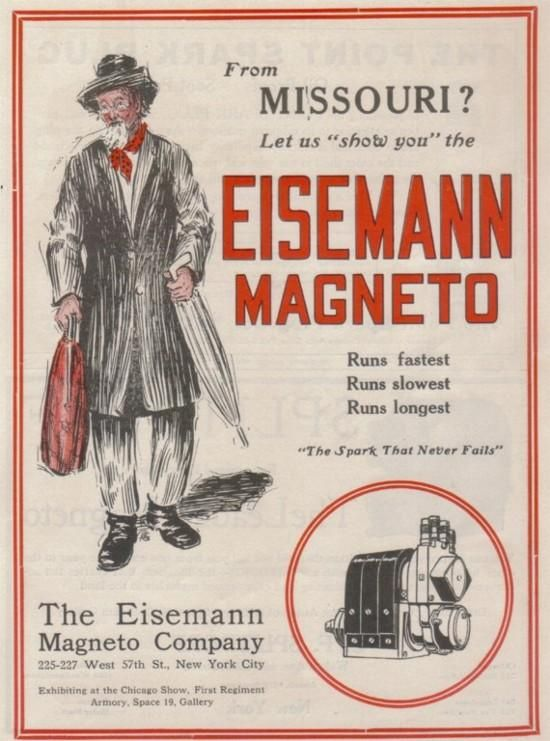 Eisemann magneto | badges, posters, stickers and t-shirts