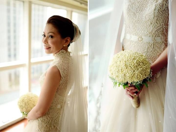 Perfect Combination Of Veluz Gown With My Sampaguita Bridal