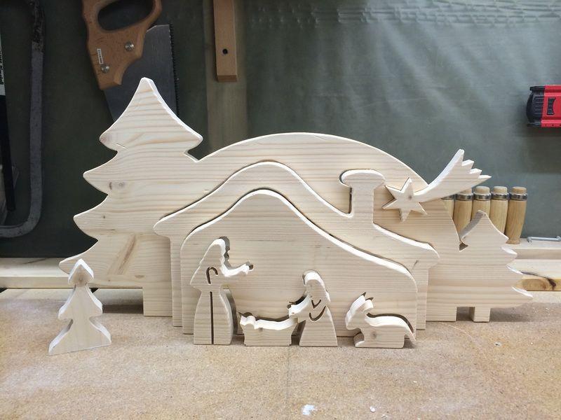 relief krippe i bastelanleitung zum selber basteln weihnachtskrippen dekupiers ge vorlagen. Black Bedroom Furniture Sets. Home Design Ideas