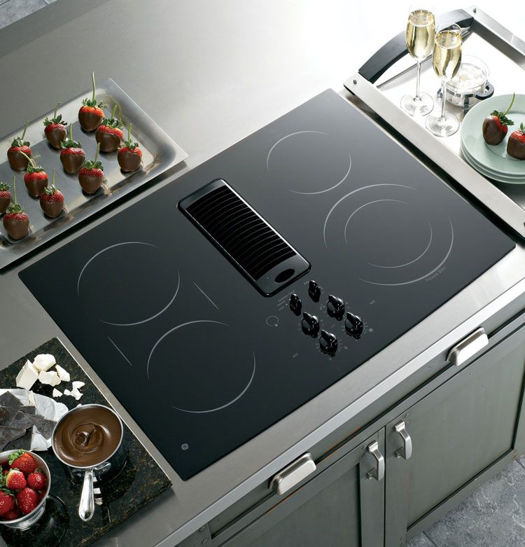 Ge Profile 30 Downdraft Electric Cooktop Review 2018 Electric Cooktop Downdraft Cooktop Cooktop