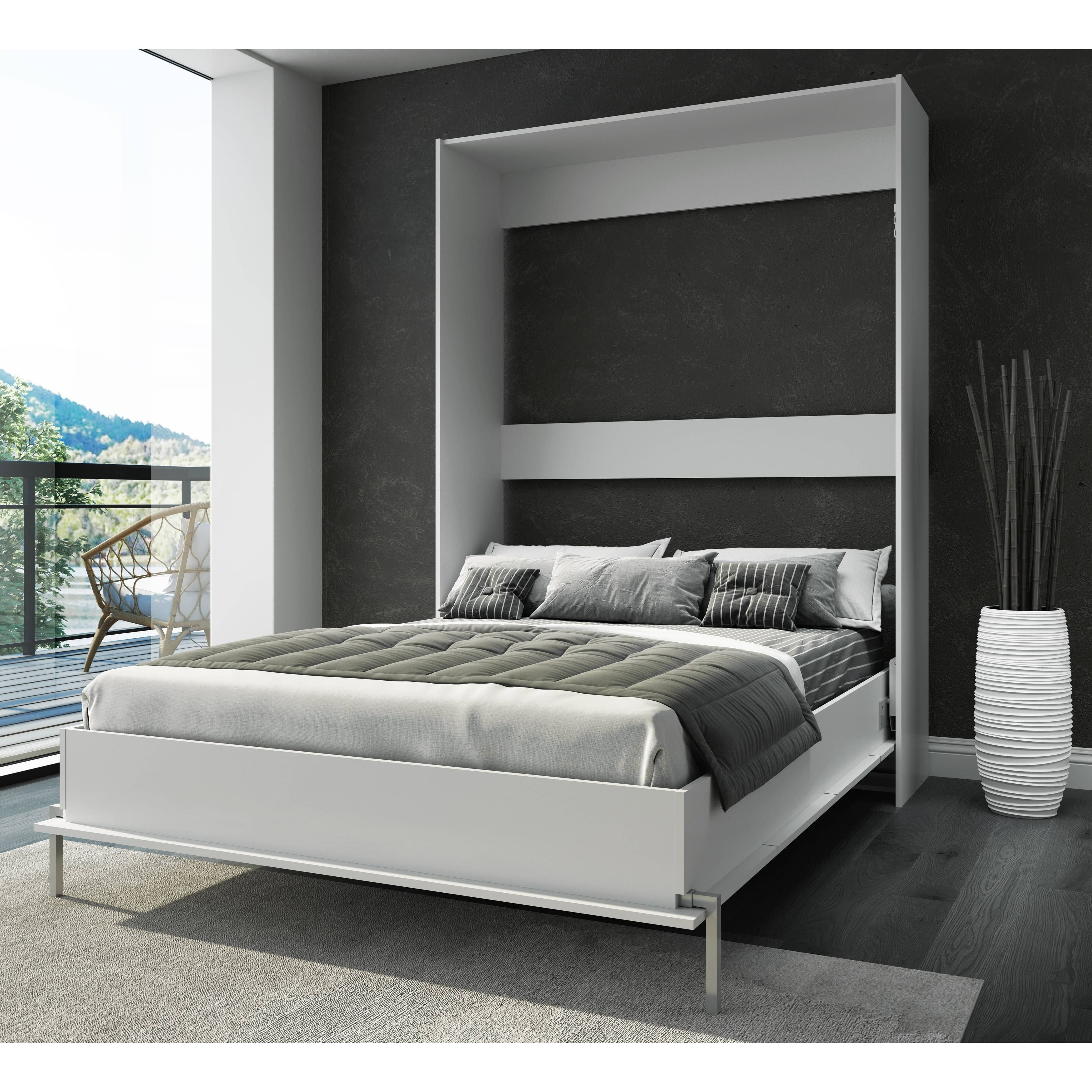 Our Best Bedroom Furniture Deals  Full murphy bed, Wall bed