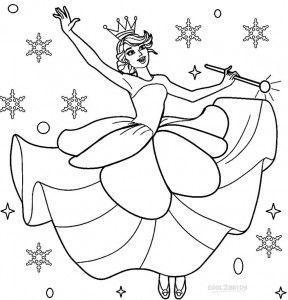 Nutcracker Coloring Pages Sugar Plum Fairy   Fairy ...