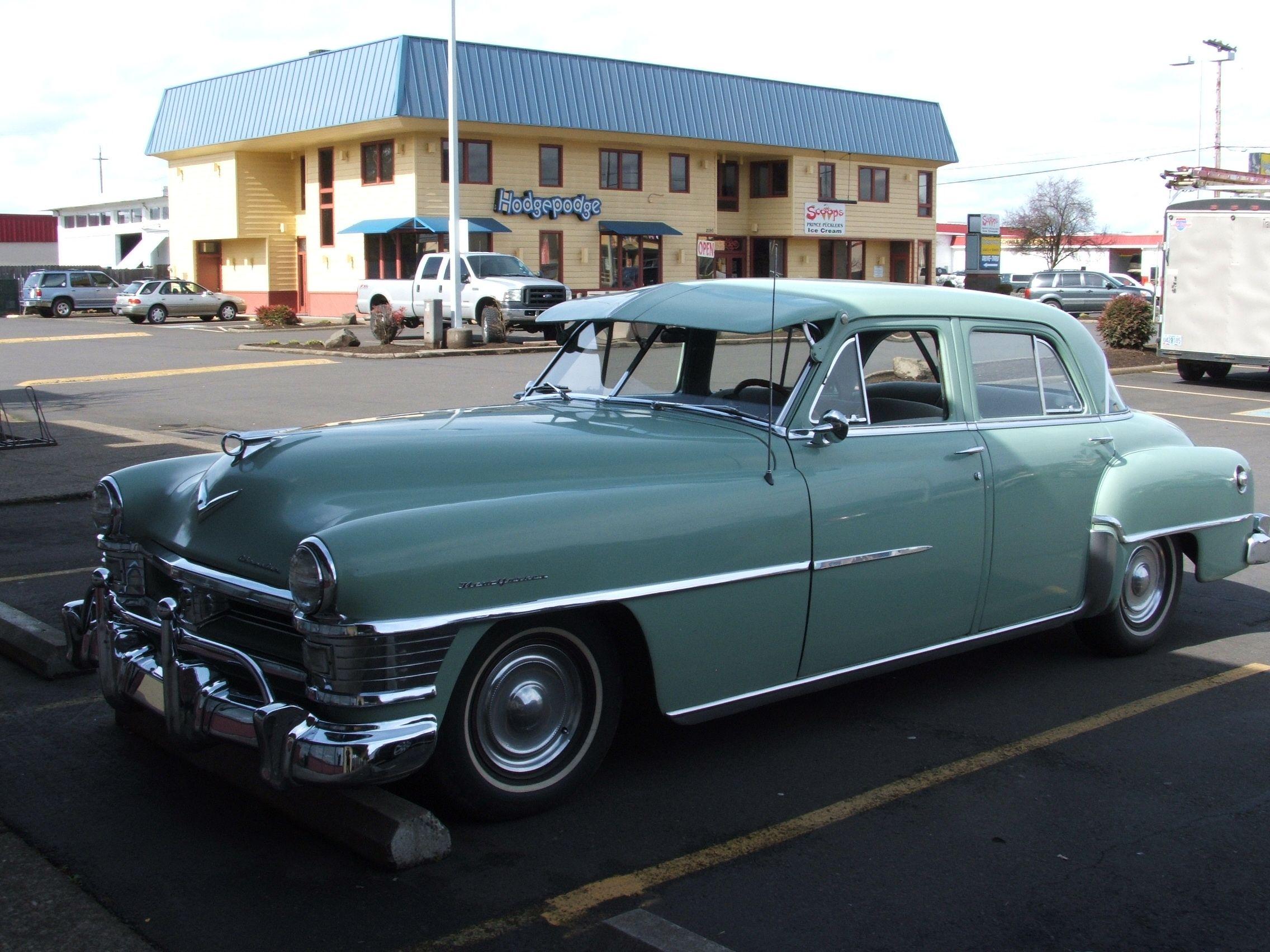Be jealous of this 1951 Saratoga Chrysler, I know I am