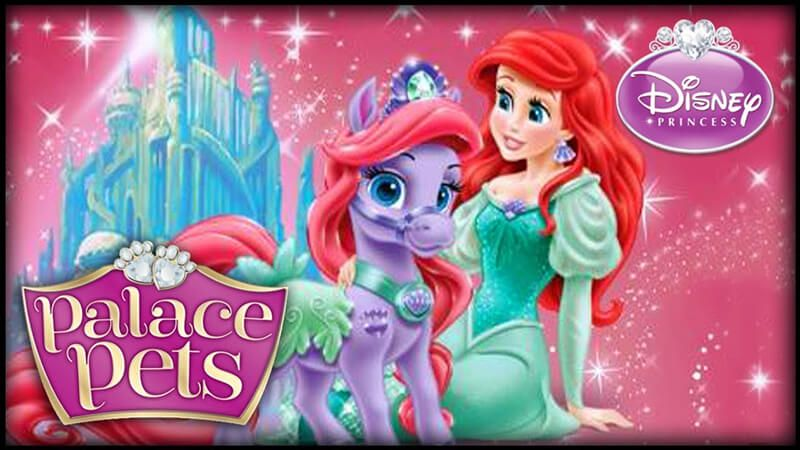 Ariels Palace Pet Seashell Is A Nice Adventure With Your Favorite Princess As The Star Of The Day Disney Princess Palace Pets Princess Palace Pets Palace Pets