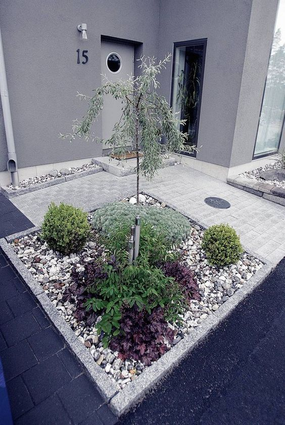 Photo of vorgarten gestalten steine – flashzoom, Best garten ideen