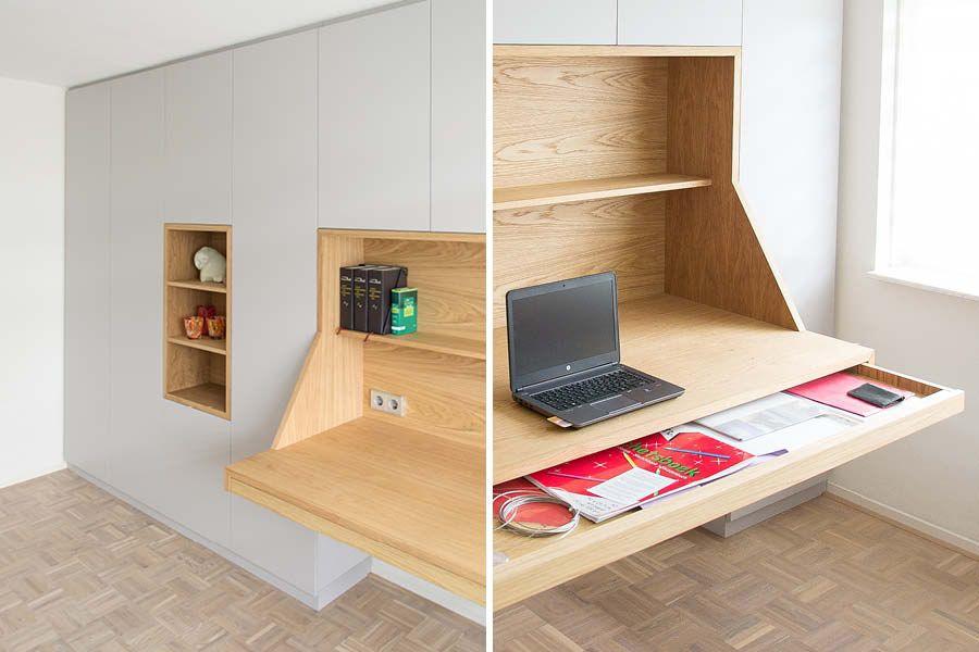 Bureau in kastenwand google zoeken home office in