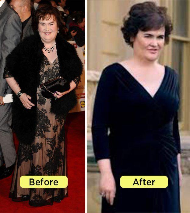 Pierdere în greutate susan boyle. Cum să piardă în greutate rapid sfaturi de la celebrități