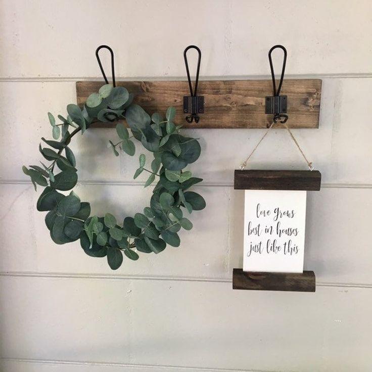 Pin On Farmhouse Wreaths Home Decor