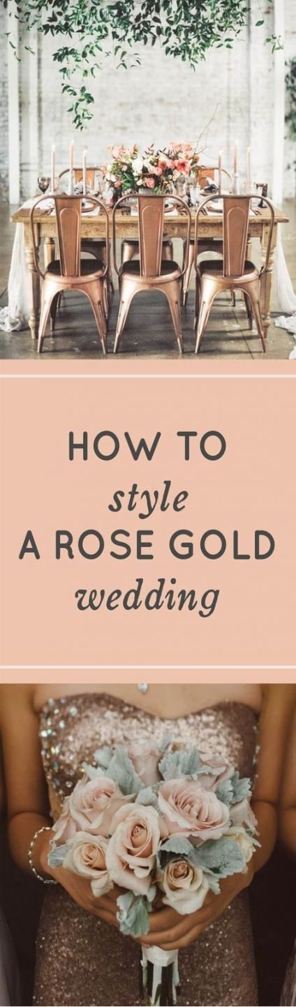 50+ Ideas Wedding Rose Gold Reception 50+ Ideas Wedding Rose Gold Reception