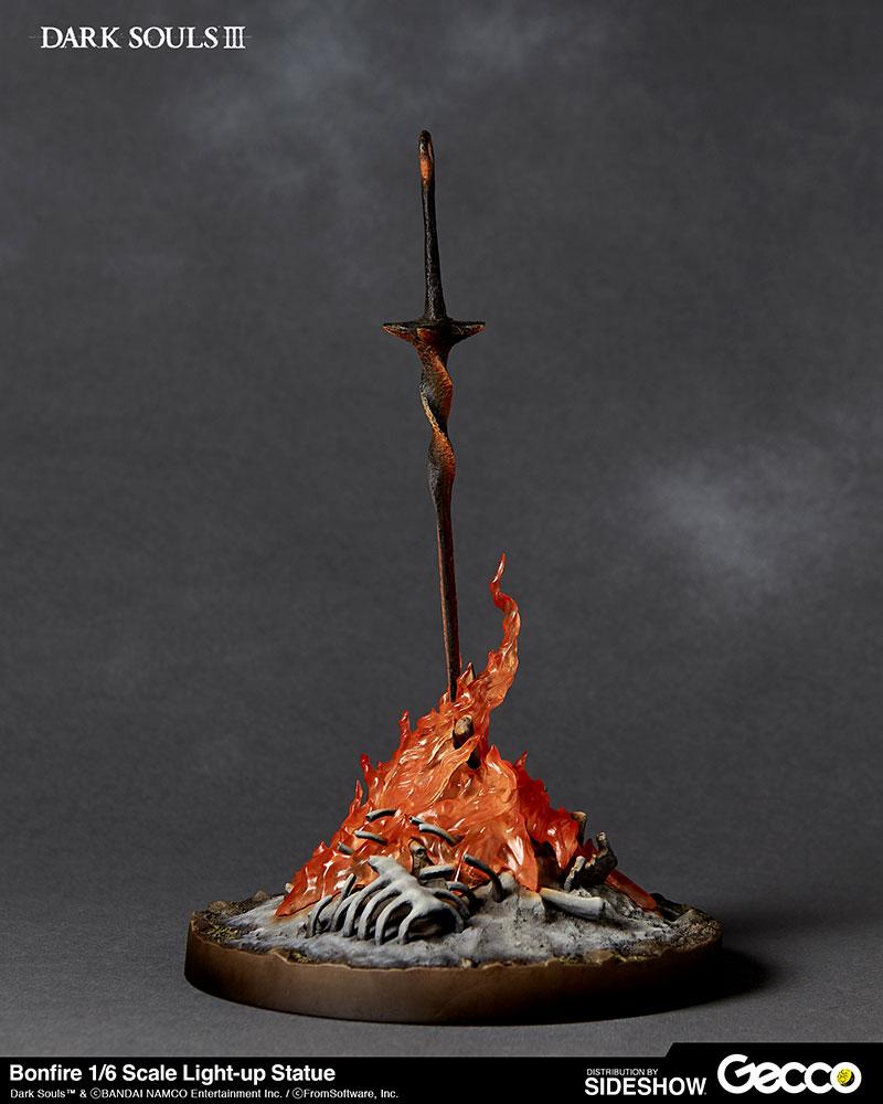 Dark Souls Bonfire Light Up Statue By Gecco Co Sideshow Collectibles Dark Souls Dark Souls Tattoo Soul Tattoo