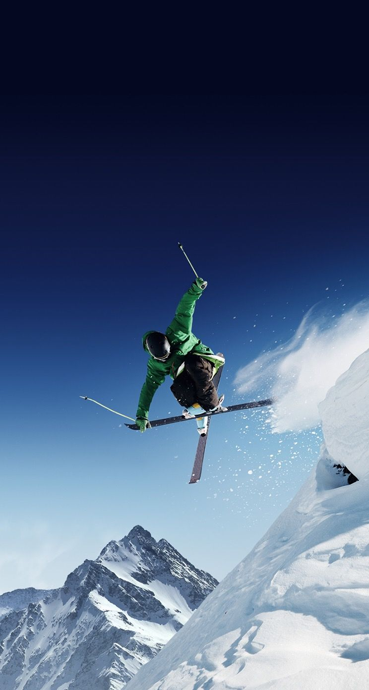 Iphone 5s Wallpaper Skiing Surfing Freestyle Skiing