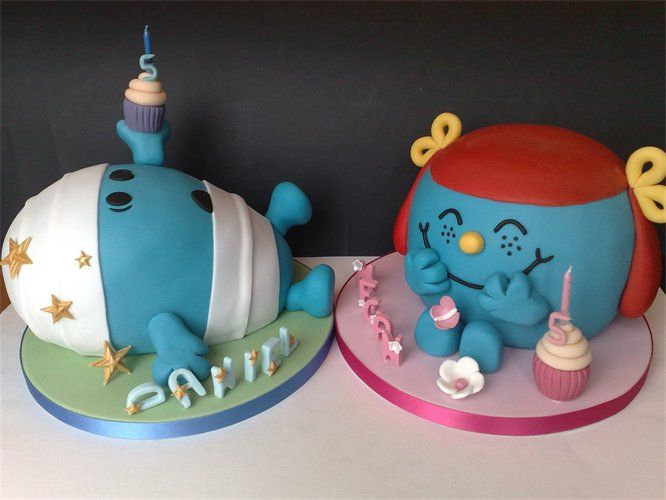 Mr Men And Little Miss Cakes Just Fab Mr Men And Little Miss Cakes