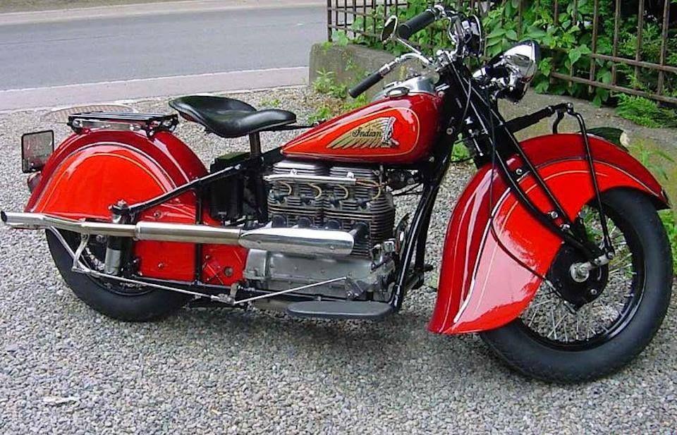 1940 Indian Four Indian Motorcycle Vintage Indian Motorcycles Indian Motorbike