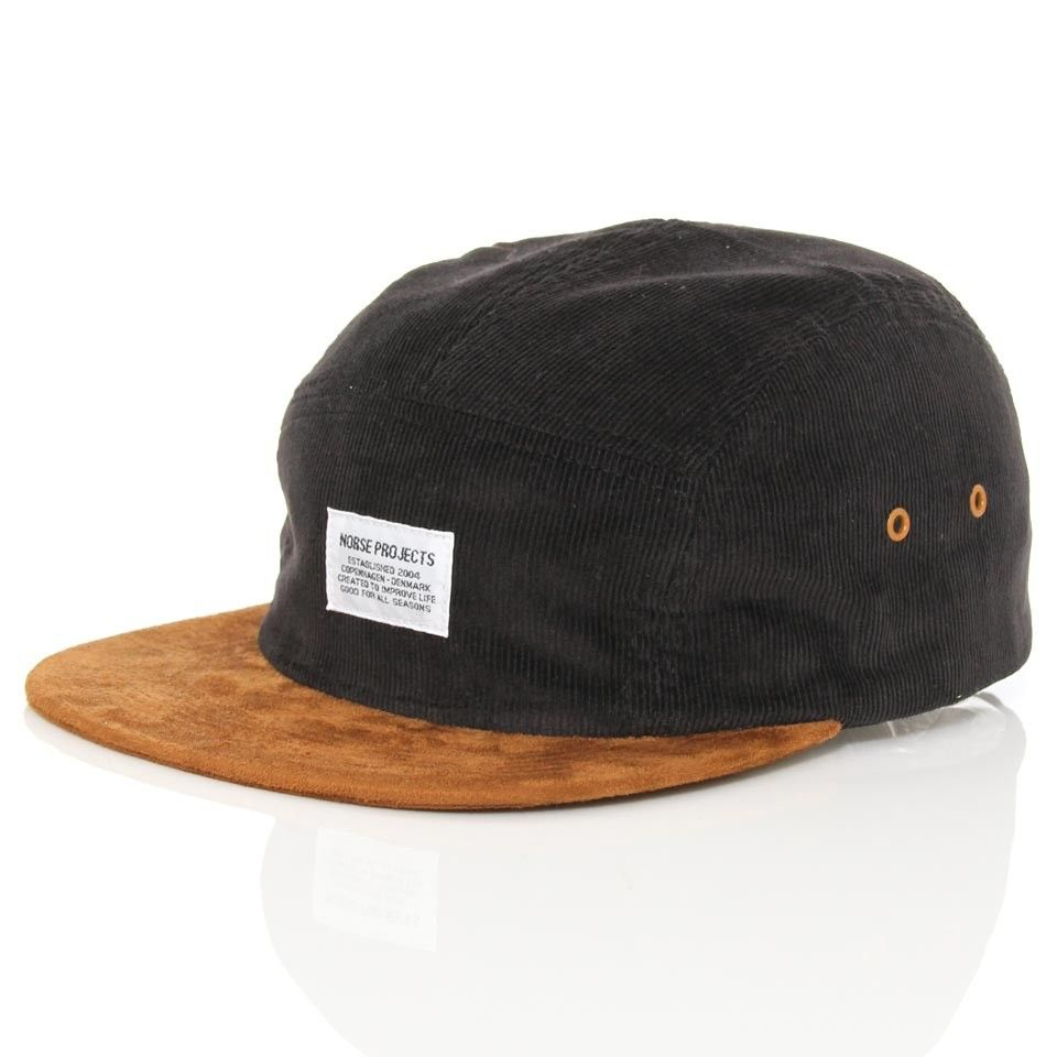 50f590c0321 Norse Projects 5 Panel Cord Cap Navy  wellgosh