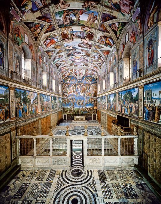 Michelangelo's Sistine splendor, story of a Renaissance icon #renaissanceart