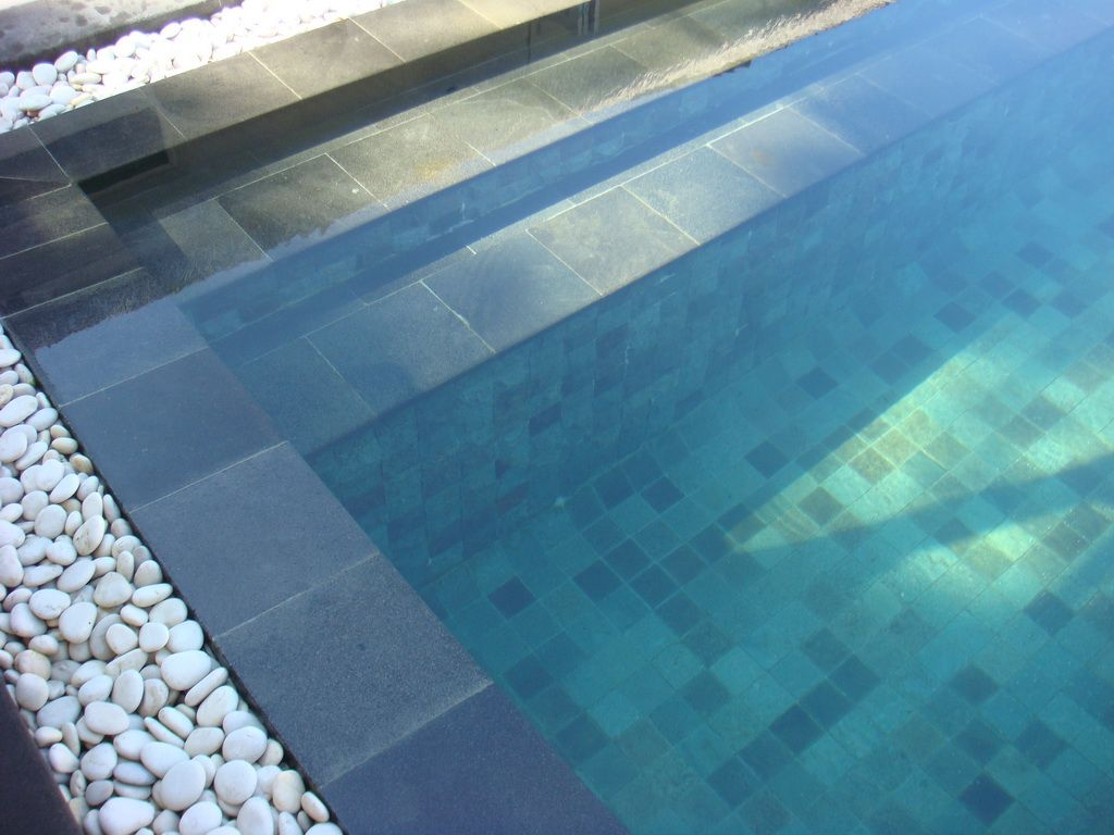 Sukabumi stone tile sukabumi stone tile supplier wholesale for Pool tile pictures
