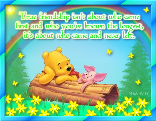 True Friendship Quotes Friendship Quote Friend Piglet Friendship Quote  Winnie The Pooh Friendship Quotes