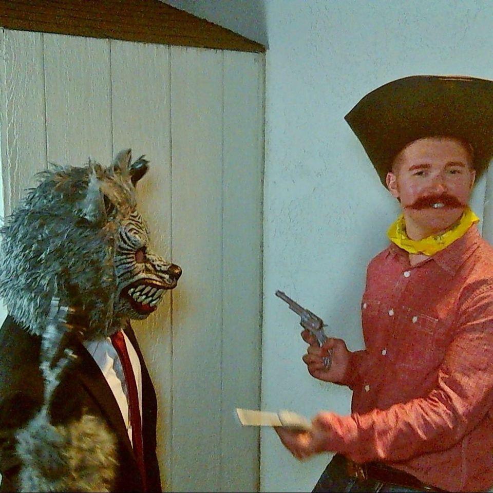 yosemite sam and the wolfman costumes - Yosemite Sam Halloween Costume