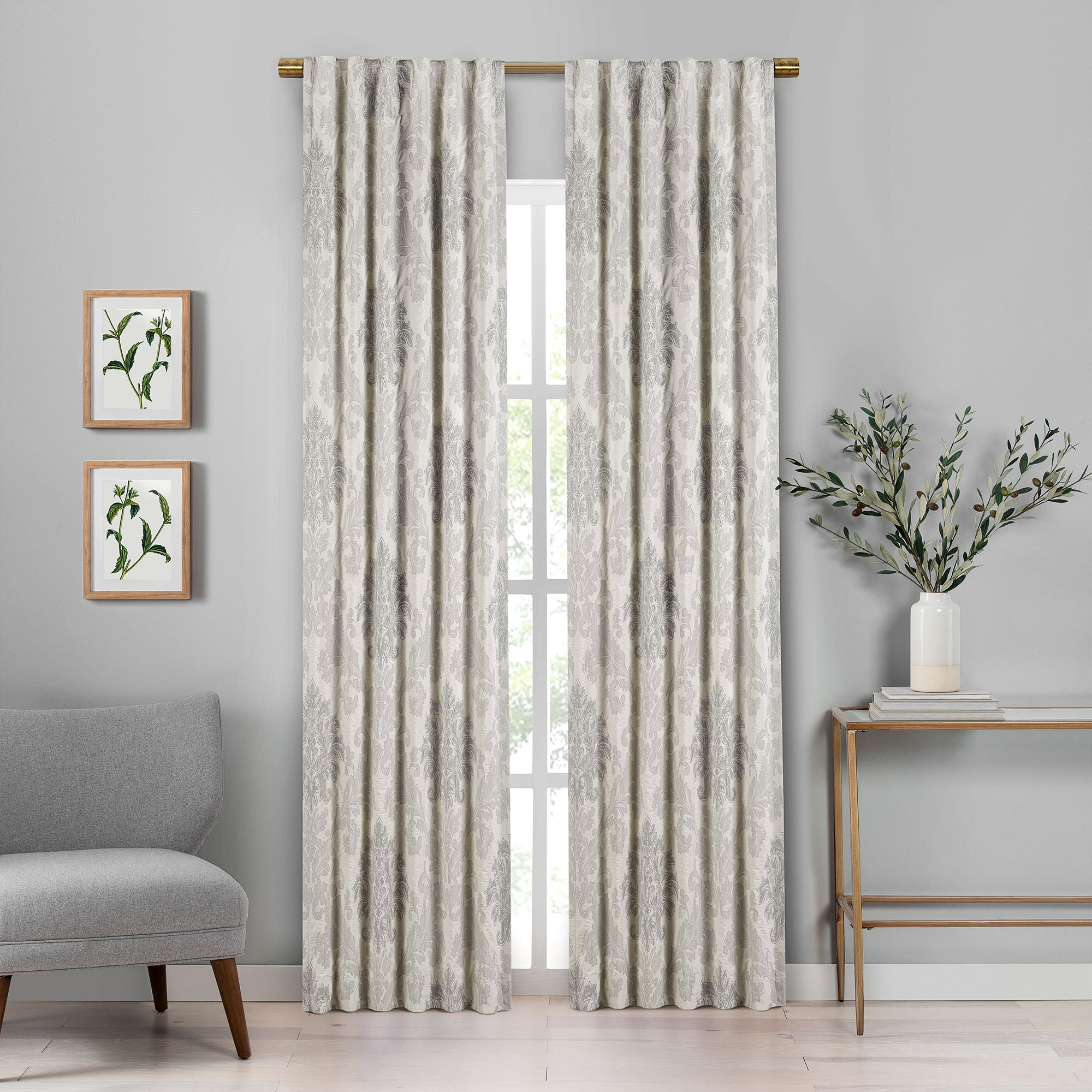 Phoebe Curtain Panel Pair 84 Panel Curtains Curtains Home Decor