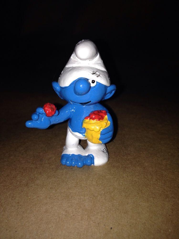 20422 Authentic Original Tramp (Gammeli) Smurf with