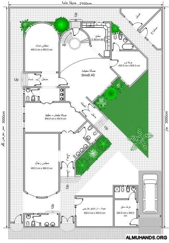 تصاميم معماريه الصفحة 4 Beautiful House Plans Model House Plan House Construction Plan