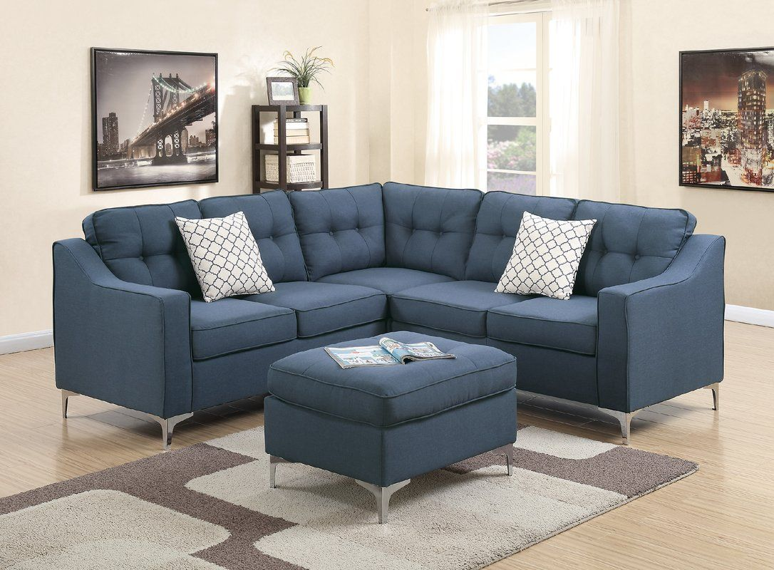 Best Bacher 4 Piece Living Room Set With Images Modular 400 x 300