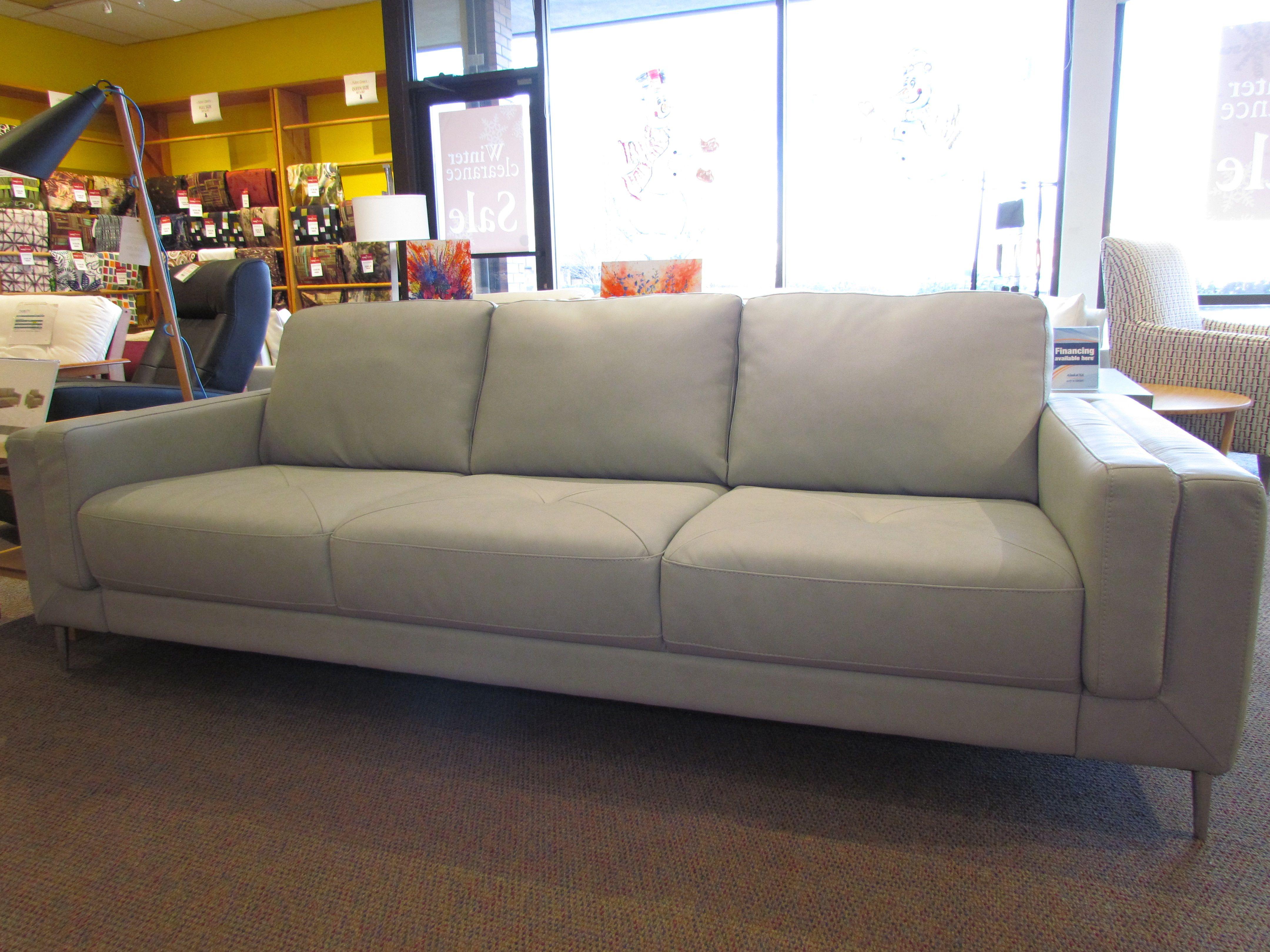 Zuri Sofa By Palliser In Dax Ash