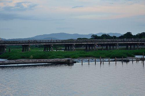 Togetsu-kyo Bridge in Arashiyama / 渡月橋(嵐山)