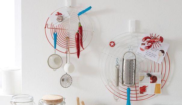 DIY  relooker la cuisine avec des grilles déco - plan maison avec cotation