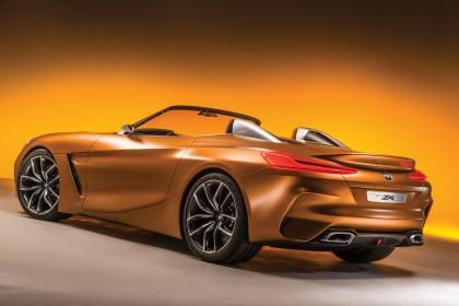 Attrayant New 2018 BMW Z4 Previewed By Bold Concept At Pebble Beach