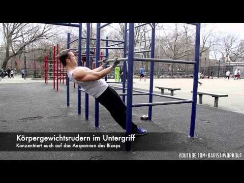 "Calisthenics Tutorial ""Bizeps-Training"""
