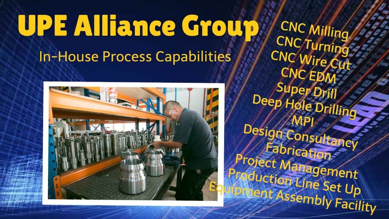 http://www.upealliancegroup.com/ Are You Looking For Automation? Jig & Fixture? We offer a complete range of hardware and software automation components to design and build custom-tailored machines that best fits your precise specifications. We provide turnkey automation solutions for various industries.