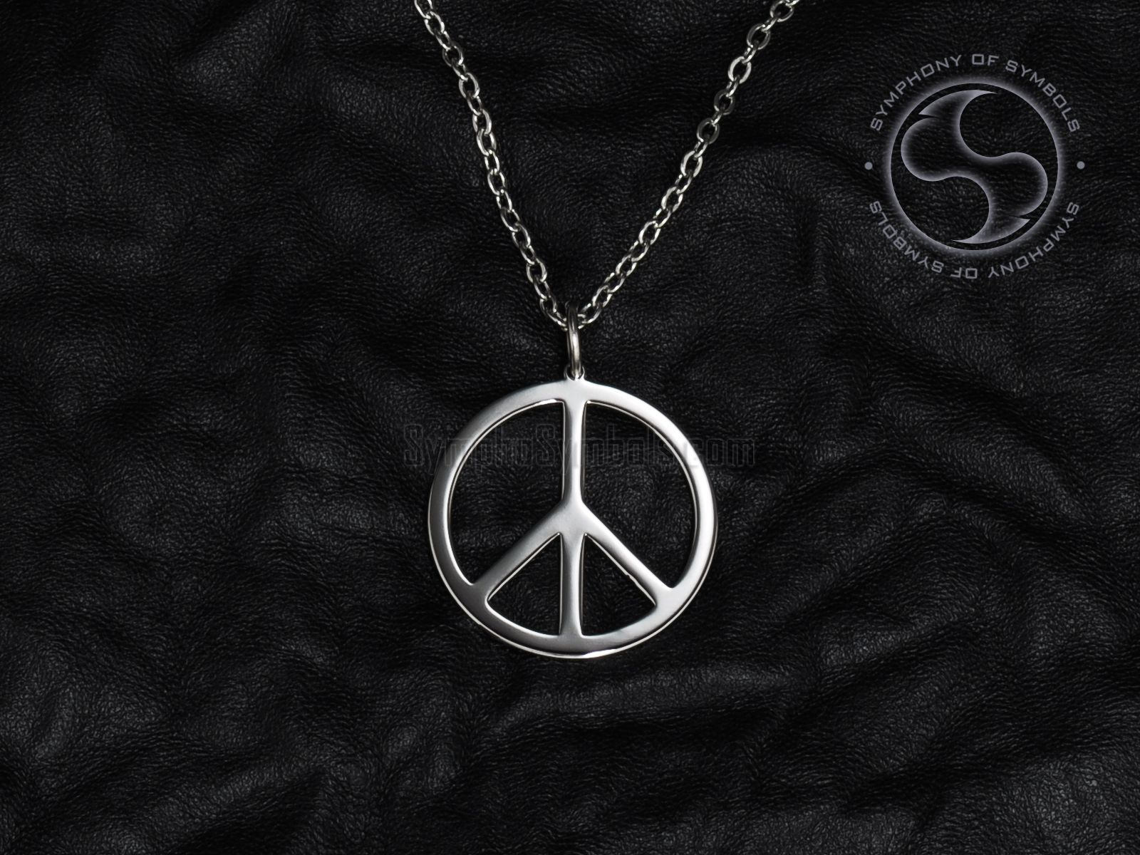 Peace symbol pendant stainless steel jewelry pacific necklace peace symbol pendant stainless steel jewelry pacific necklace pacifism keychain cnd logo nuclear disarmament emblem peace biocorpaavc Gallery