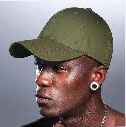 Green baseball cap for teenage guys UV protection hats adjustable design f76f9a997582