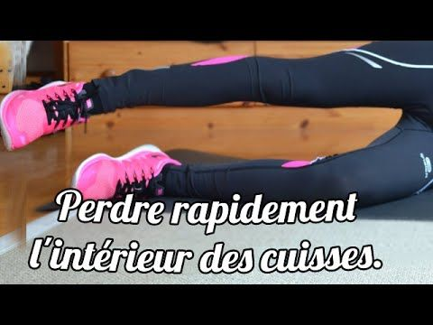 exercices pour perdre rapidement l 39 interieur des cuisses youtube cindy body fitness sport. Black Bedroom Furniture Sets. Home Design Ideas
