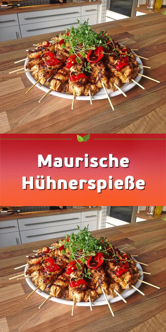 Photo of Maurische Hühnerspieße