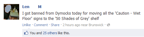 Banned From Dymocks Bookstores Imgur Bookstore Funny Posts Facebook Humor