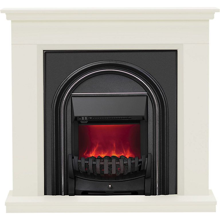 This Electric Fire Features A Silent Flame Effect Which Instantly Adds An Inviting Warming Glow To The Room This Fire Uses A Thermostat Wh Electric Fire Suites
