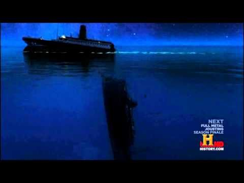 Titanic New Sinking Theory History Channel Simulation Titanic History Channel Titanic Underwater