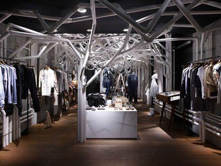 Nature Factory Installation at Diesel Denim Gallery – Aoyama