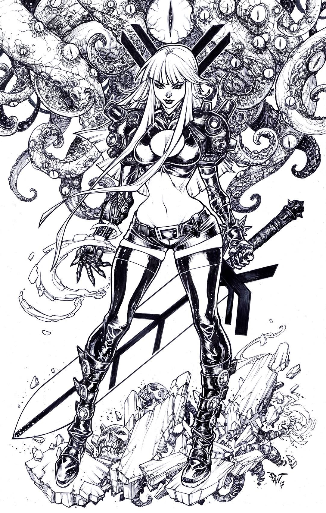 Emma Frost, The White Queen by Arthur Adams | comic book stuff ...