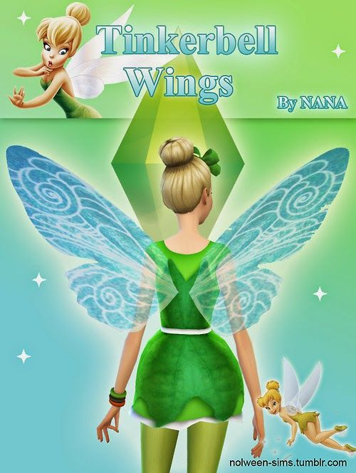 My Sims 4 Blog: Accessories - Wings [X] Downloaded | Sims
