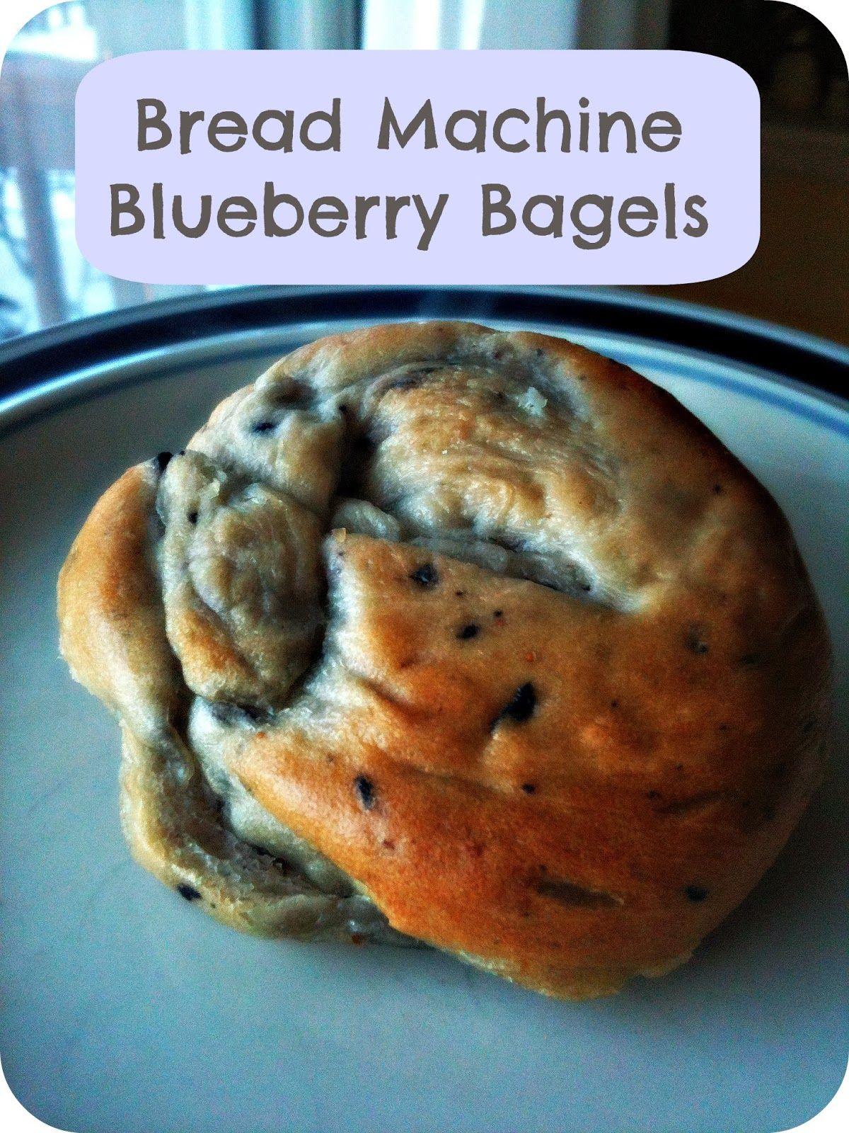 Bread Machine Blueberry Bagels Baking Bread Machine