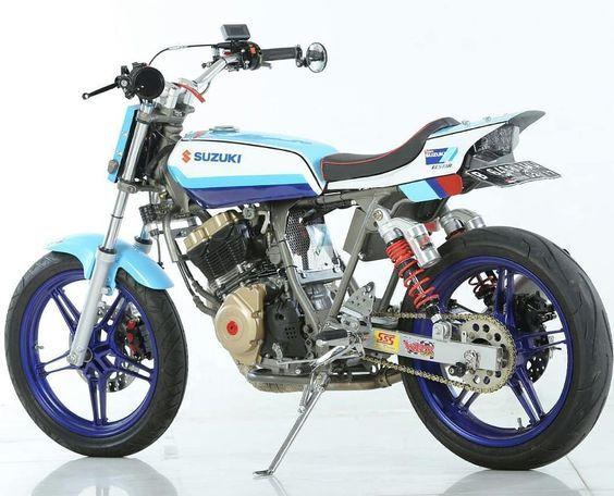 Love My Bike Suzuki Satria Fu Flattraker 150 Cc We Support The