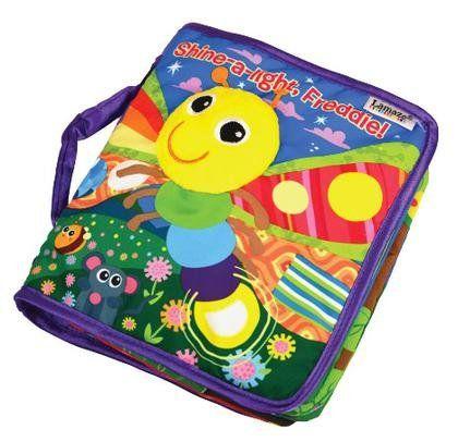 Lamaze Freddie the Firefly Peek-a-Boo Book #baby #holidays #gifts #YoYoHotToys