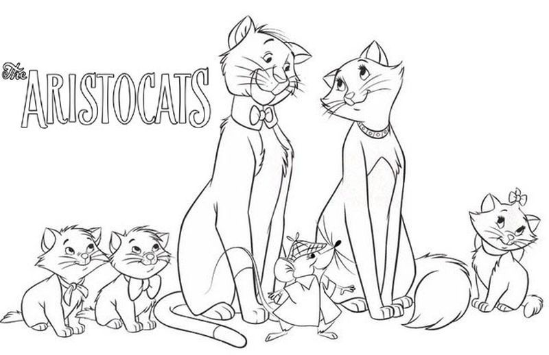 Aristocats Coloring Pages To Print In 2020 Aristocats Coloring Pages Disney Coloring Pages